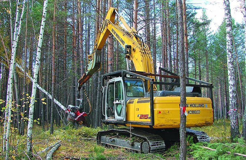 Лесозаготовительная техника Сибирь